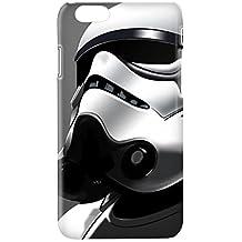 Funda carcasa Star Wars para Iphone 4 4S 5 5S 6 6S 6plus 7 7plus plástico rígido