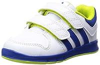 sportive e alla moda. Le chiusure in velcro consentono una facile regolazione della scarpa. Il materiale esterno è realizzato in in argilla motivo similpelle liscia bianca. La scarpa è dotata di un tessuto fodera materiale. Grazie alla morbid...