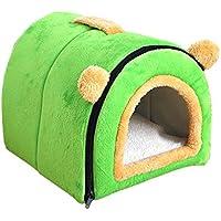 PLDDY Cama para la casa del perro para mascotas más cálida y sofá portátil - Camas