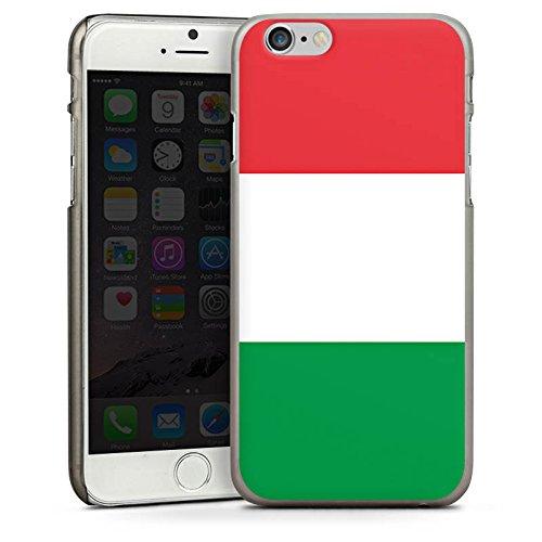 Apple iPhone 5s Housse Étui Protection Coque Italie Italie Drapeau CasDur anthracite clair