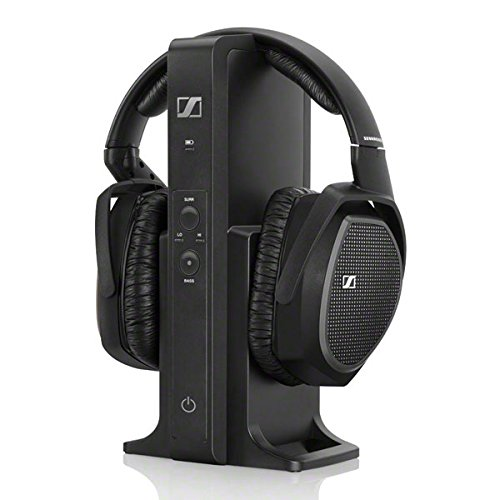 Sennheiser RS 175 Cuffia Wireless, Tecnologia Digitale, Nero