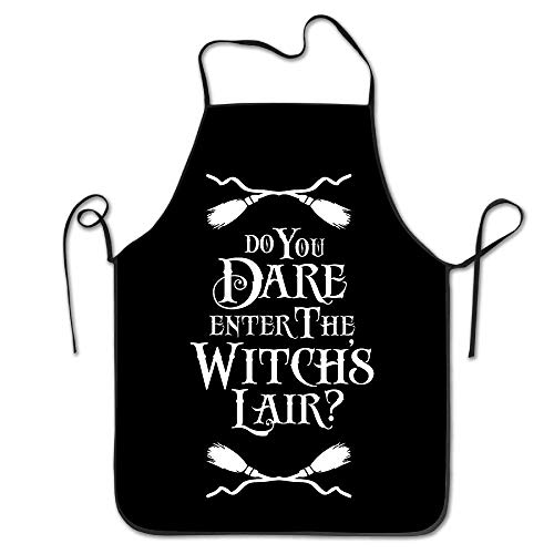 Sweeth Aprons Do You Dare Enter The Witchs Lair Halloween Chef Aprons Kitchen Gift Leer Mesh Trucker Hats