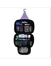 Glive's Travel Venice Bag Travel Waterproof Cosmetic Organizer Toiletry Kit With Hanging Hook For Men And Women