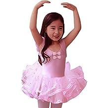 Eulla Bambini Ragazze balletto abito danza classica tutu gonna rosa