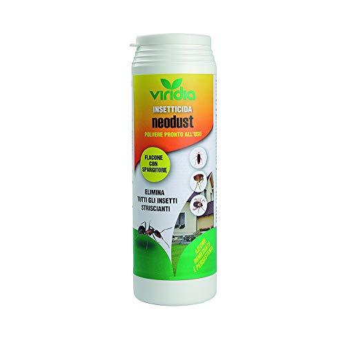 viridia Polvere insetticida disinfestazionecontro formiche, pulci, scarafaggi, pesciolini d'Argento, millepiedi, scorpioni e...
