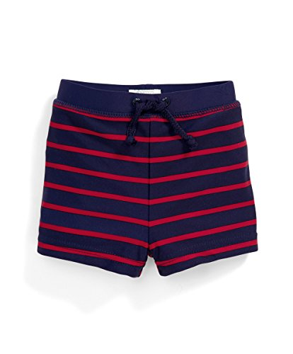 Mamas and Papas Baby-Jungen Badehose Stripe Swim Shorts, Mehrfarbig, 3-6 Monate