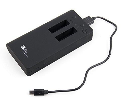DURAGADGET Akku mit Taschenlampe (USB/Mikro USB/Action Kamera) für Aldi Medion Akoya E1240T Tablet-PCs