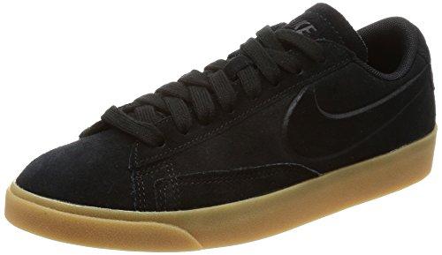 Nike Damen Blazer Low SD AA3962 Sneakers Turnschuhe (UK 4 US 6.5 EU 37.5, Black Gum Light Brown 002) -