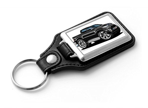 wickedartz-cartoon-car-toyota-hi-lux-pick-up-black-classic-style-key-ring