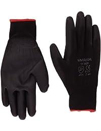 Warrior  Work Gloves, NB8 (Size 8) Black- Set of 12