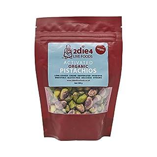 2Die4 Organic Activated Pistachios, 100 g
