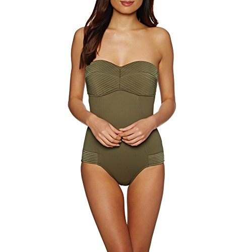 Seafolly Quilted Bandeau Maillot - 40