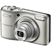 Nikon Coolpix L28 Camera - Silver (20.1MP, 5xZoom, 26mm Wide Lens) 3.0 inch LCD