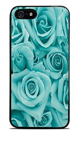 Teal Roses LittleTeal Black Hardshell Case for iPhone 5 / 5S
