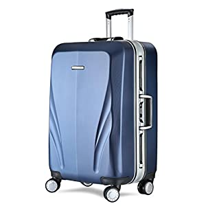 Unitravel Valise Bagage Cabine rigide Voyage Blesure en PC Polycarbonate à 4 Roulettes Pivotantes 360°+ TSA Serrure à combinaison, plusieurs tailles couleurs à votre choix