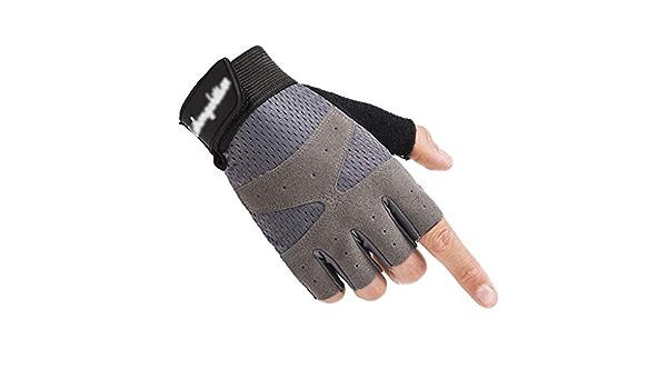 Outdoor M/änner und Frauen Fingerlose Handschuhe Kampfhandschutz Sport Reiten Halbfingerhandschuhe