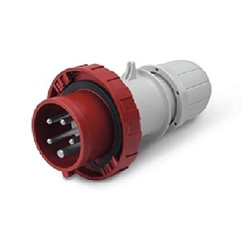 Scame 218.3237 Conector Eléctrico, 415 V, Rojo