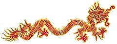 Idea Regalo - Biestl - Decorazioni murarie per il Capodanno cinese, drago