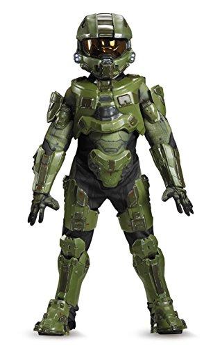 Disguise Master Chief Ultra Prestige Halo Microsoft Costume, -