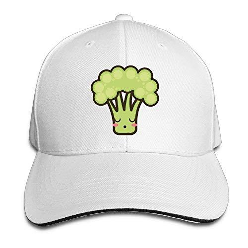 Preisvergleich Produktbild WBinHua Hüte caps Kawaii Cartoon Broccoli Adult Adjustable Snapback Hats Trucker Cap Unisex