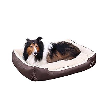 SONGMICS Cómodo Casa para mascotas, Cama para perros Perro De Perrito Sofa 75 x 58 x 17 cm PGW03Z