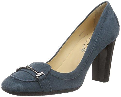 Tod's  Decollette, Escarpins pour femme bleu foncé