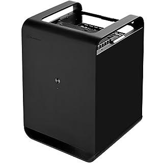 SilverStone SST-CS01B - Case Storage Mini-ITX Computer-Gehäuse, schwarz
