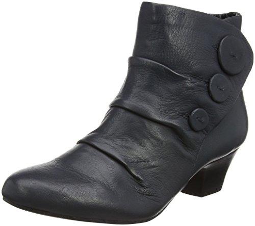 Lotus Women's Brisk Ankle Boots, Blue (Navy Leather), 5 UK 38 EU
