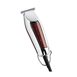 Wahl Detailer Trimmer T-Wide Five Star Series - Tosatrice Professionale, con Filo, Argento/Bordeaux, 38 mm