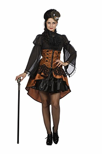 t Vampirin Steampunk Karneval Halloween Gr.36 (Steampunk Kostüm Halloween)