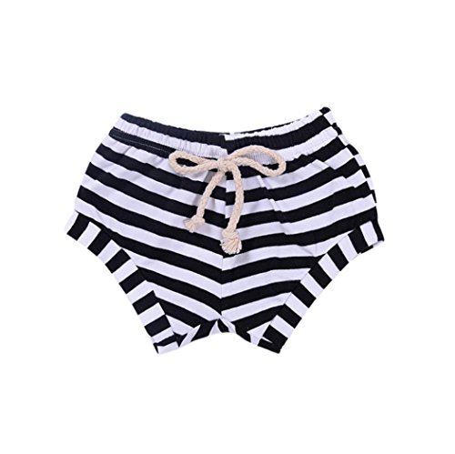 Clearance Sale!OverDose Newborn Infant Baby Girls Boys Striped Shorts Summer Bottoms Bloomers