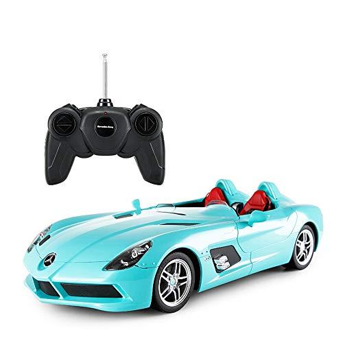 Kikioo Hardcover Version Radio Remote 1:12 RC Elektroauto Sport Racing Hobby Toy Grade Modell Sound und Licht Dasher Stunt Allradantrieb Drifting Vehicle für Kinder Jungen und Mädchen Beste Geschenk S