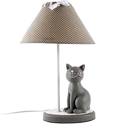 Lampe d'ambiance Chat gris