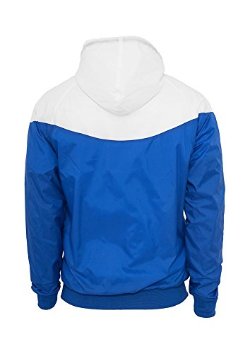TB148 Arrow Windrunner Joggingjacke Roy/Wht