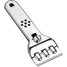Wenko 2241100100 Profi - Rascador de limpieza para vitrocerámica (2 cuchillas de repuesto, acero inoxidable, 13 x 4,5 cm)