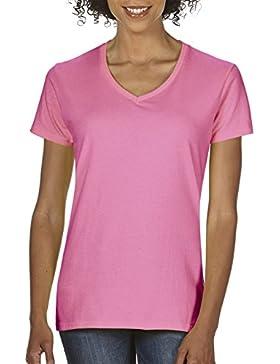 Gildan Softstyle cuello en V T-shirt de la mujer