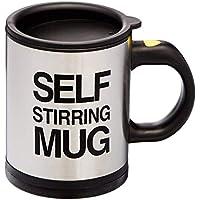 Lyanther ¡No es Necesario Mezclar café útil! Taza de Acero Inoxidable con agitación automática