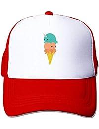 deyhfef Trucker Narwhal Octopus Ice Cream Adjustable Mesh Back Baseball cap  Multicolor81 f29f4042dd32