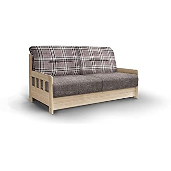 schlafsofa campus grau wei stoff sofa couch massiv holz schlafcouch bettfunktion. Black Bedroom Furniture Sets. Home Design Ideas