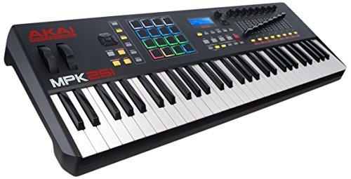 AKAI Professional MPK261 61 Tasten semi gewichtetes USB MIDI Keyboard inkl. wichtiger Kontrollen der MPC Workstations, VIP 3.0 und Software Paket
