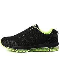 811b944123f48c TORISKY Unisex Sportschuhe Herren Damen Laufschuhe Sneakers Turnschuhe  Fitness Mesh Air Leichte Schuhe Rot Schwarz Weiß