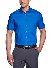 Schwarze Rose Herren Businesshemd 226208 - Slim Fit