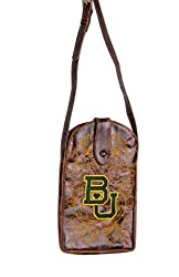 NCAA Baylor Bears Women's Cross Body Purse, Brass, One Size