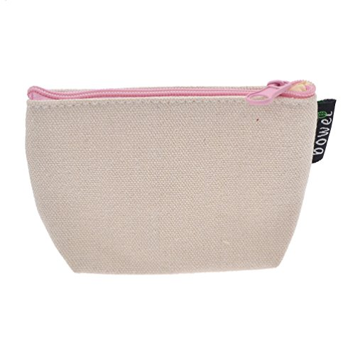 YNuth Portafoglio Borsa della Moneta Sacchetto di monete Flamingo Wallet Coin Pouch Bag per Ragazza Bambino bianco 2