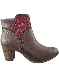 Amazon Rojas Disponibles No Mujer Zapatos Incluir Y es Mustang trw7q4t