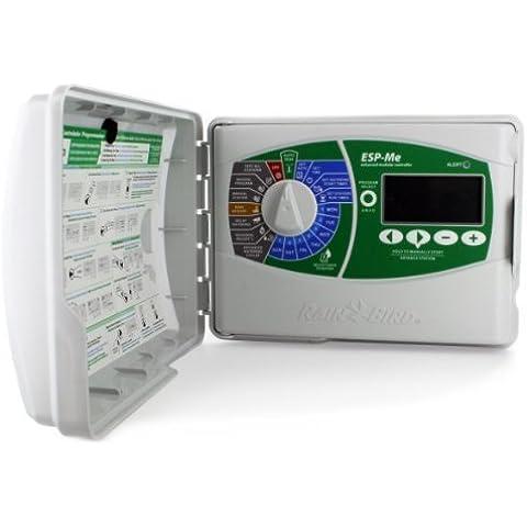 Rainbird ESP4ME 120 V estación al aire libre 4 ESP irrigación controlador Modular