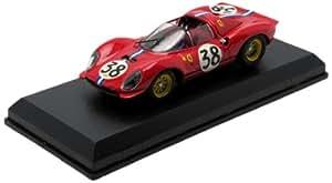 Art-Model Art082 - Véhicule Miniature - Modèle À L'Échelle - Ferrari Dino 206 S - Le Mans 1966 - Echelle 1/43