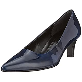 Gabor Shoes Damen Fashion Pumps, Blau (Marine), 38 EU