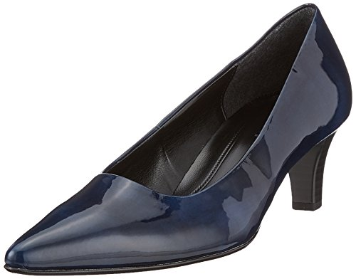Gabor Shoes Damen Fashion Pumps, Blau (Marine), 40 EU