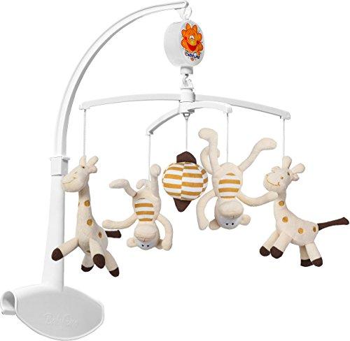 Baby Ono Musical Mobile mit bunten Soft Toys (Giraffe & Monkey)
